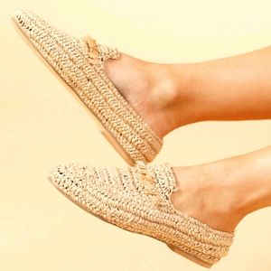 NWT ~ THE SHANTY CORP.  Miami Woven Loafers
